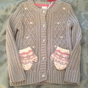 Other - NWT Adorable little girls cable knit sweater